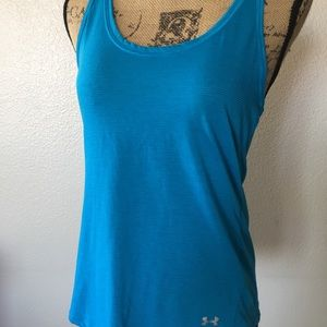 Under Armour teal colored tank